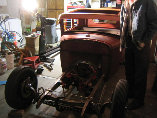 Mike's 1930 Model A Coupe; Red Oxide Wonder