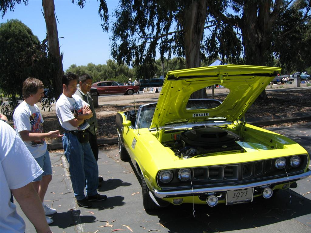 1966 plymouth barracuda yellow
