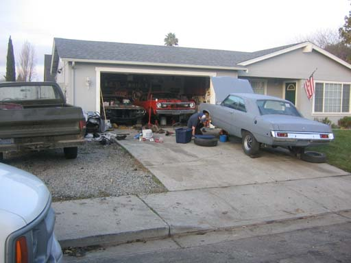 Out Front of the House, December 2004