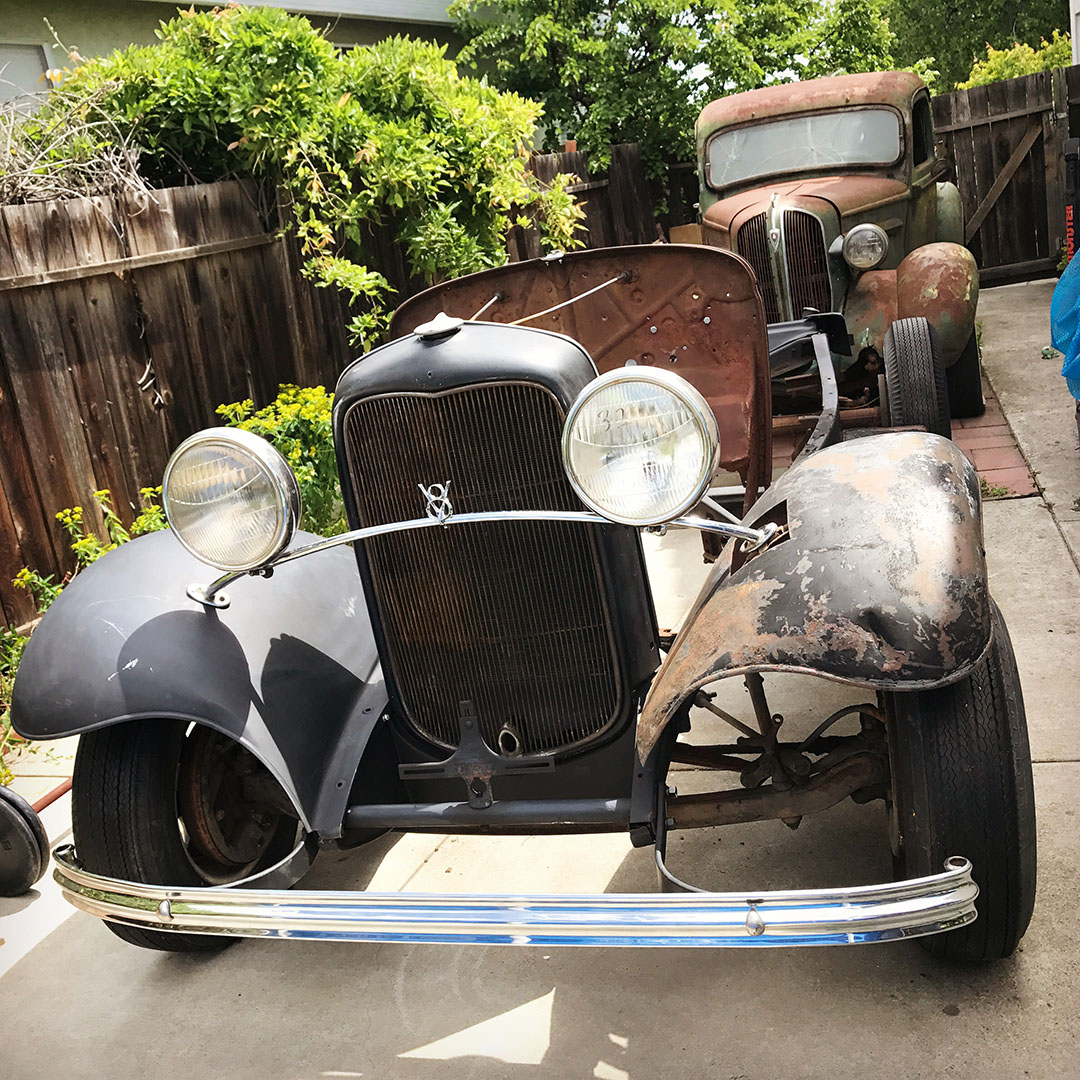 Price Ford Turlock >> 1932 ford roadster hot rod - full fendered and not giving ...