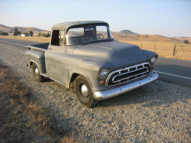 My 1957 Chevy 3100 Pickup Truck