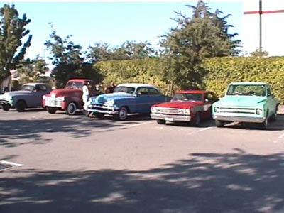 Lost Footage Found!!  56 minutes from 2005 – Paso Robles, Relics Car Club